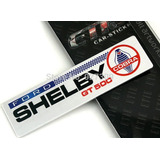 Emblema Ford Shelby Gt 500 Mustang Cobra Eleanor V8 !!!