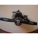 Motor Naftero 42 Cc Para Avion A Escala Nuevo Hiunday