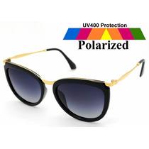 Óculos De Sol Polarizado Moderno Atual Moda Fashion Feminina