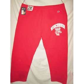 Pants Deportivo Rojo De Hombre Talla 2x Wisconsin