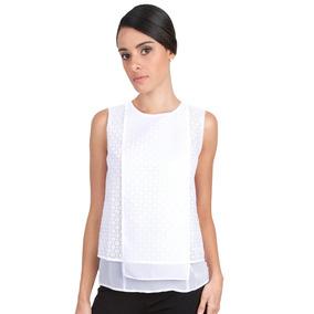 Camisa Blanca Guayabita Regina Para Damas