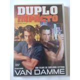 Duplo Impacto Dvd Dublado Em Portugues Van Danme