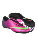 Tenis Para Fut 7 Nike Para Hombre Simipiel Morado Con Amaril