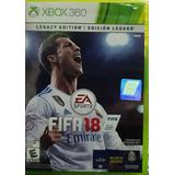 Fifa 18 Legacy Edition.-xbox 360
