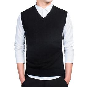 Pullover Sweater - Chaleco Cuello V