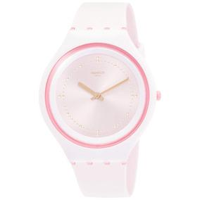 85f24fcee9b Relógio Rosa Pink Swatch Skin - Relógios no Mercado Livre Brasil