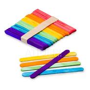 Palitos De Helado Para Maquetaría X 50 Unid Colores Surtidos