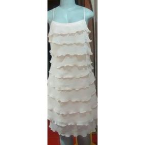 Vestido Fiesta Elegante De Capas. Marca Naf Naf