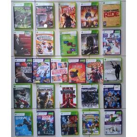 Jogos Microsoft Xbox 360 Vários Games P/ Escolha Frete R$10