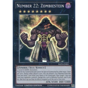 Number 22: Zombiestein Super Rate-ense1 Yugioh Original