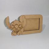 Souvenir Portaretrato Lilo & Stitch Fibrofácil - Foto 7 X 5