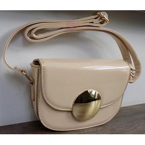 Bolsa Verniz Candy Bag Detalhe Dourado Linda Balada Alça 18