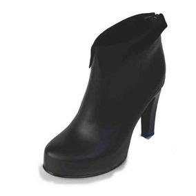 Bota 1145 Mujer Cuero 100% Plataforma Interna 20 Mm Zapato