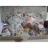 Caja Estampillas Y Fragmentos P/lavar , + De 1000