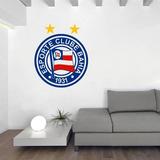 Adesivo De Parede Escudo Bahia Esporte Clube 72cm A370