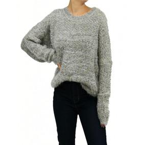 Sweater Buzo Pulover Invierno Importado Mujer Brishka D-0003