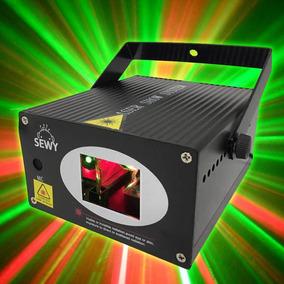 Laser Rojo Y Verde Audioritmico Dj Efecto Bicolor Sewy L Orl
