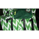 Camiseta De Nigeria 2018 Portugal Francia Blanca Mundial