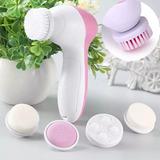 Cepillo Facial Giratorio Masajeador Exfoliante 5 En 1