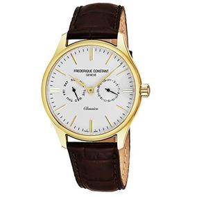 Frederique Constant Reloj Clásico Para Hombre De Oro