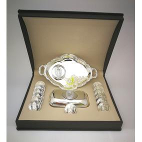 Arras Matrimoniales Laminadas En Oro Blanco De 14k