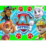 Kit Imprimible Paw Patrol Nene Diseña Tarjetas Invitacion #2