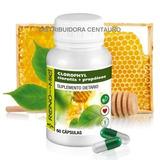 Clorofila En Cápsulas! Chlorella + Propóleos - Digestivo