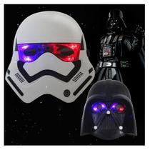 Star Wars Mascara Que Acende Luz Nos Olhos Lançamento!!!