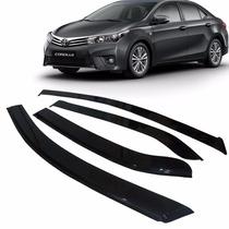 Calha De Chuva Defletor Corolla Sedan 2015 2016 4 Portas