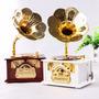 Caixinha De Musica Vitrola Caixa Musical Presente Gramofone