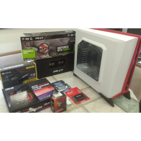 Computador Gamer Amd Fx 8370 16gb Ram 3.30 Ghz Placa 1050 Ti