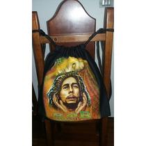 Mochila Bolsa Bob Marley Diferente