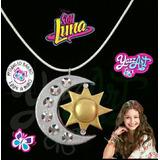 Collar Soy Luna / Dije Soy Luna / Medalla Soy Luna