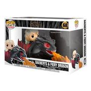Funko Pop Game Of Trones Daenerys + Drogon 68 Scarlet Kids