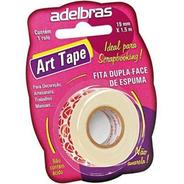 Fita Adesiva Dupla Face Espuma Art Tape 19mmx2m Adelbras