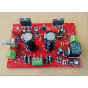 Placa Montada Amplificador 200w Rms Tda7294 Sem Dissipador