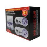 Consola Amusement System, 660 Juegos Nes, Incluye Dos Contro