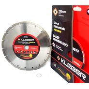 Disco Diamantado Laser Segmentado 230mm  Kleber Fox230la