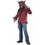 Disfraz Halloween Hombre Lobo Adulto Talla De Ee.uu