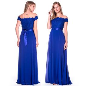 Vestido Longo De Festa Casamento Madrinha Renda