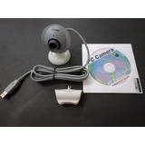 Webcam Câmera Computador Usb Troni Ee290 Resolução 352 X 288