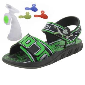 Papete Infantil Masculina Ben 10 Verde/preto Grendene Kids -
