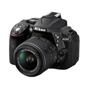 Camara Digital Nikon Reflex D5300 Kit 18-55 Mm 24.2 Full Hd
