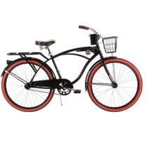 Bicicleta Hombre 26 Huffy Nel Lusso Cruiser, Negra