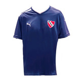 Remera Entrenamiento Azul M/c Independiente 2013