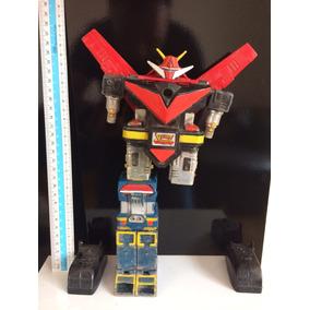 Robo Anos 80 God Sigma Sucata Brinquedo Antigo Raro Japao