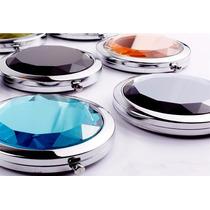 Set 10 Pzs De Espejo Diamante, Boda-bautizo-xv Años