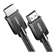Cabo Hdmi 8k Higher Resolution 2.1 Cinza (3 Metros) Ugreen