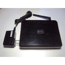 Roteador Wireless D-link Modelo: Dir-600 Com Fonte Original