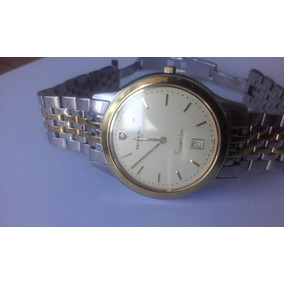 Reloj Swiss Nivada Caballero Superslim Gc2379g